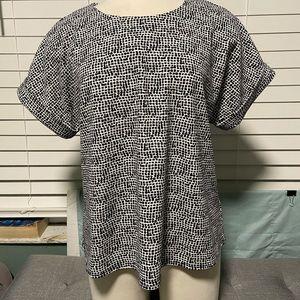 Melloday short sleeve blouse